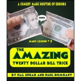 The Amazing Twenty Dollar Bill Trick by Hal Spear and Paul Romhany - DVD
