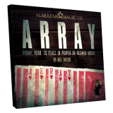 Array (Gimmick and DVD) by Baz Taylor and Alakazam Magic - DVD
