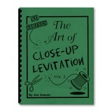 Art of Close Up Levitation Vol 2 - No Strings by Jon Jensen - Book