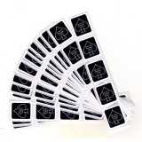 Deck Seal BLACK (100 SEALS) by US Playing Card Company - Trick