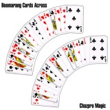 Boomerang Cards Across by Chazpro Magic - Trick