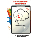 Switchboard Clipboard the Rising Card (Pro Series 10) by Paul Romhany and Wayne Rogers - Book