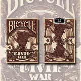 Bicycle Civil War Deck (Red) by US Playing Card Co - Trick