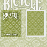 Bicycle Peacock Deck (Green) by USPCC