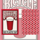 Bicycle Red Plastic Cup Deck by US Playing Card Co.