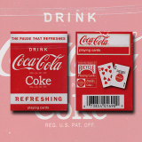 Mini Coke Playing Cards by US Playing Card Co.