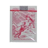 Cards Squeezers Bulldog Poker size (Blue)