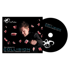 Trickster Presents Collision (DVD and Gimmick) by Tom Wright - DVD