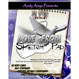 Dove from Sketch Pad (With DVD) by Dan Sperry and Andy Amyx - Trick