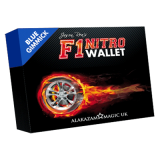 F1 Nitro Wallet Blue (DVD and Gimmick) by Jason Rea - DVD