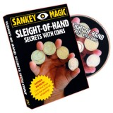 Sleight Of Hand With Coins by Jay Sankey - DVD