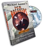 Ice Breakers (with Cards) by Michael Ammar - DVD