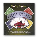 Odd Quad (Cards and DVD)  by Fooler Doolers - DVD