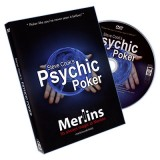 Psychic Poker (With DVD) by Steve Cook - DVD