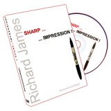 Sharp Impression (DVD and Gimmicks) by Richard James - DVD