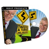 Twist and Turns by Mel Mellers and RSVP Magic - DVD