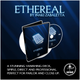 Ethereal Deck Blue (Gimmick and Online Instructions) by Vernet - Trick