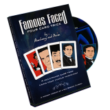 Famous Faced - Four Card Trick (gimmicks & DVD) by Paul Romhany - Trick