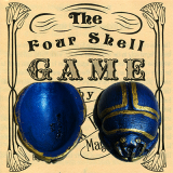 Four Dung Beetle Scarab Shells (Blue) - Trick