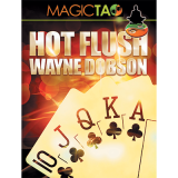 Hot Flush (Blue) by Wayne Dobson and MagicTao - Trick
