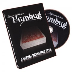 Humbug (Red Card with DVD) by Angleo Carbone - Trick