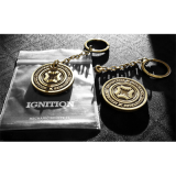 Ignition (Bronze Keyring + gimmick) by Mechanic Industries
