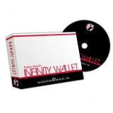 Infinity Wallet (w/DVD) by Peter Nardi & Alakazam - Tricks