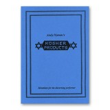 Kosher Products: Lecture Notes by Andy Nyman & Alakazam Magic - Book