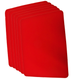 Close Up Pad 6 Pack LARGE (Red 12.75 inch  x 17 inch) by Goshman - Trick