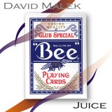 Marked Deck (Blue Bee Style, Juice) by David Malek - Trick