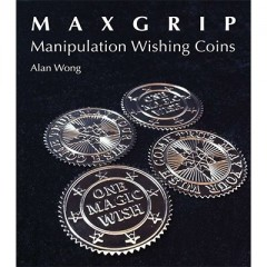 Max Grip Manipulation Wishing Coins (SILVER) by Alan Wong - Tricks