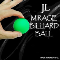 Mirage Billiard Balls by JL (GREEN, single ball only) - Trick