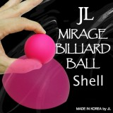 Mirage Billiard Balls by JL (PINK, shell only) - Trick