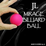Mirage Billiard Balls by JL (PINK, single ball only) - Trick