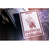 Nautical Playing Cards (Red) by House of Playing Cards