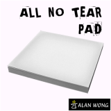 No Tear Pad (Small, 3.5 X 3.5, All No Tear) by Alan Wong - Trick