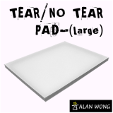 No Tear Pad (Large, 6X8, Tear/No Tear Alternating) by Alan Wong - Trick