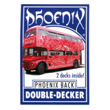 Phoenix Double Decker (Blue) by Card-Shark - Trick