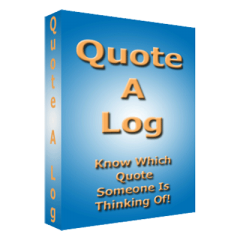 Quote a Log by Fred Moore - Trick
