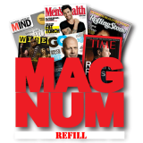 Refill for Magnum (three magazine sheets) - Trick