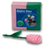 Napkin Rose - Refill (PINK) by Michael Mode - Trick
