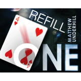 Refill for One (RED) by Matthew Underhill and World Magic Shop - Tricks