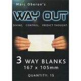Refill for Way Out XII (3way/Standard) by Marc Oberon - Trick