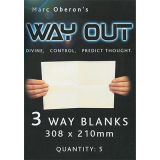 Refill for Way Out XII (3way/Large) by Marc Oberon - Trick