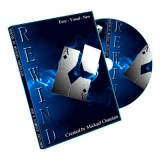 Rewind (Gimmick and DVD, BLUE) by Mickael Chatelain - Trick