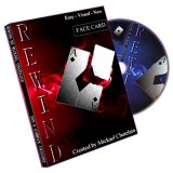 Rewind (Gimmick, DVD, FACE card, RED back) by Mickael Chatelain - Trick