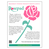 The Rose Pad (complete kit) by Martin Lewis - Trick