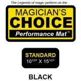 Standard Close-Up Mat (BLACK - 10.5x15.5) by Ronjo - Trick