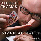 Stand Up Monte (Jumbo Index) DVD and Gimmick by Garrett  Thomas and Kozmomagic  -DVD