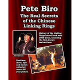 The Real Secrets of the Chinese Linking rings by Pete Biro - Book